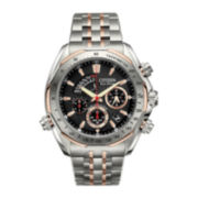 Citizen® Signature Grand Complication Mens Two-Tone Chronograph Watch BZ0016-50E