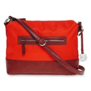 Liz Claiborne Nylon Crossbody Bag