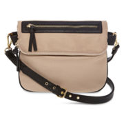 Liz Claiborne Highline Nylon Crossbody Bag