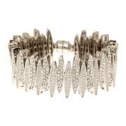 Natasha Crystal Spiked Bracelet