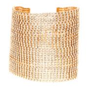 Natasha Crystal Multi-Row Chain Bracelet