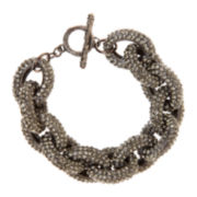 Natasha Crystal Pavé Link Bracelet