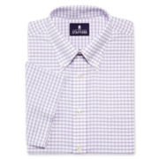 Stafford® Travel Short-Sleeve Wrinkle-Free Oxford Shirt-Big & Tall