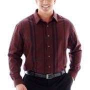 Van Heusen® Long-Sleeve Dobby Woven Shirt–Big & Tall