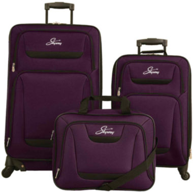 jcpenney.com | Skyway® Cascade 3-pc. Spinner Luggage Set