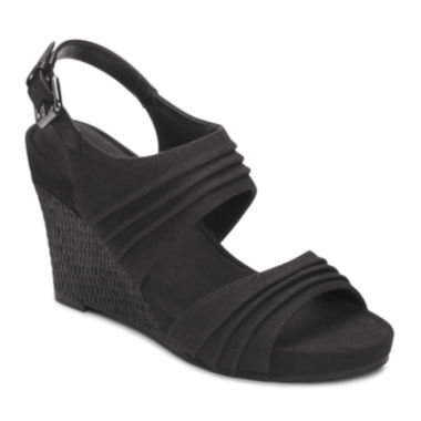 jcpenney.com | A2 by Aerosoles® May Plush Wedge Sandals