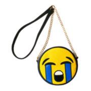 Olivia Miller River LOL Emoji Crossbody Bag