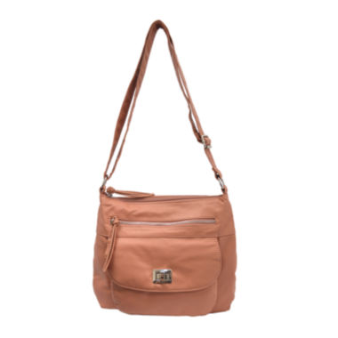 jcpenney.com | Bueno of California Washed Top-Zip Crossbody Bag