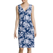 Liz Claiborne® Sleeveless Nightshirt