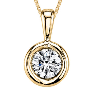 jcpenney.com | Sirena®  T.W. Diamond 14K Yellow Gold Pendant Necklace