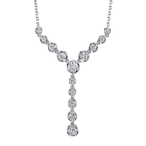 Sirena® 1 CT. T.W. Diamond 14K White Gold Necklace