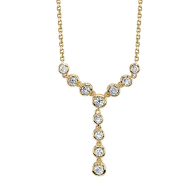 jcpenney.com | Sirena® 1/2 CT. T.W. Diamond 14K Yellow Gold Necklace