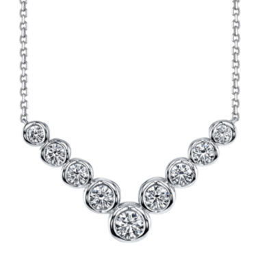 jcpenney.com | Sirena™ 1 CT. T.W. Diamond 14K White Gold Necklace