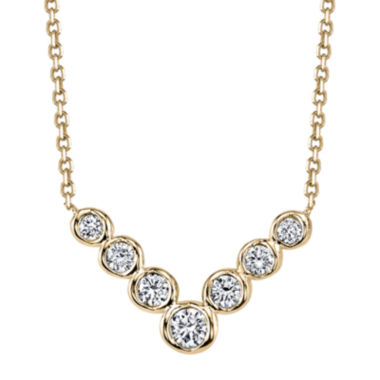 jcpenney.com | Sirena® Diamond 14K Yellow Gold Necklace