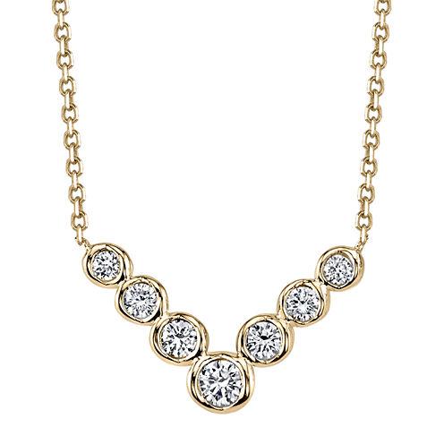 Sirena® Diamond 14K Yellow Gold Necklace