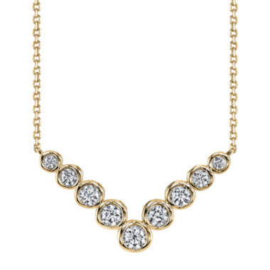jcpenney.com | Sirena™ 1/2 CT. T.W. Diamond 14K Yellow Gold Necklace