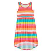 Okie Dokie® High-Low Dress - Preschool Girls 4-6x