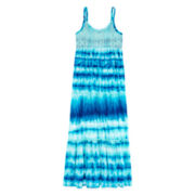 Arizona Sleeveless Tiered-Ruffle Maxi Dress - Girls 7-16