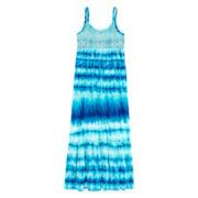 Arizona Sleeveless Tiered-Ruffle Maxi Dress - Girls 7-16