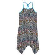 Total Girl® Sleeveless Sharkbite Dress - Girls 7-16