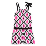 Total Girl® Diamond Romper - Girls 7-16
