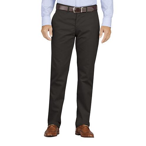 Dickies® Slim-Fit Flat-Front Khakis