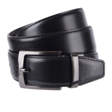 jcpenney.com | Stafford® Reversible Feather-Edge Belt - Big & Tall