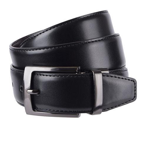 Stafford® Reversible Feather-Edge Belt - Big & Tall