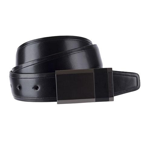 JF J. Ferrar® Reversible Feather-Edge Belt - Big & Tall