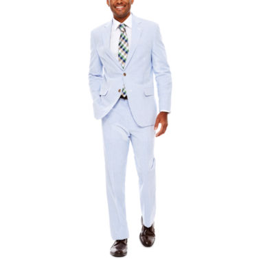 jcpenney.com | Stafford® Seersucker Suit Separates - Classic Fit