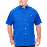 U.S. Polo Assn.® Short-Sleeve Woven Shirt - Big & Tall