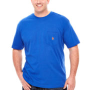 U.S. Polo Assn.® Short-Sleeve Pocket Tee - Big & Tall