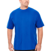 Claiborne® Drop-Needle Tee - Big & Tall