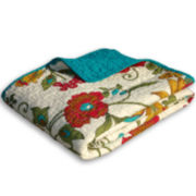 Clearwater Quilted Cotton Throw