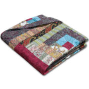 Colorado Cabin Quilted Cotton Throw