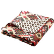 Folk Festival Rustic Cotton Throw
