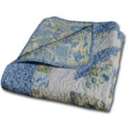 Francesca Quilted Cotton Throw