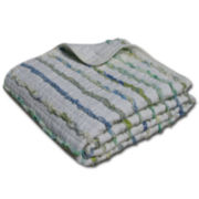 Jasmine Quilted Cotton Throw