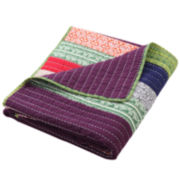 Marley Quilted Cotton Throw
