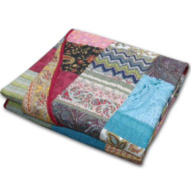 jcpenney.com | Greenland Home Fashions New Bohemian Quilted Cotton Throw
