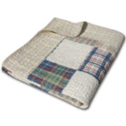 Oxford Quilted Cotton Throw