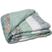 Greenland Home Fashions Paradise Quilted Cotton Throw