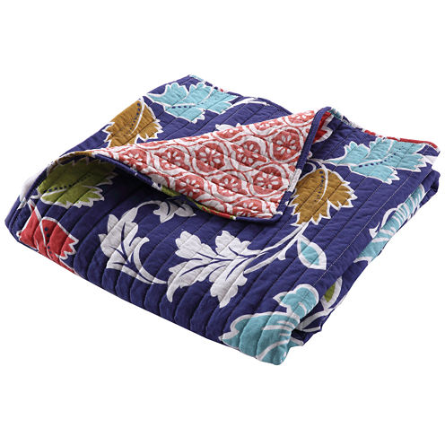 Greenland Home Fashions Phoebe Quilted Cotton Throw