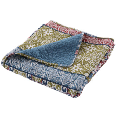 jcpenney.com | Greenland Home Fashions Shangri-La Quilted Cotton Throw