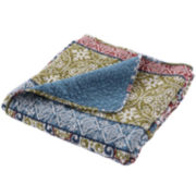 Shangri-La Quilted Cotton Throw