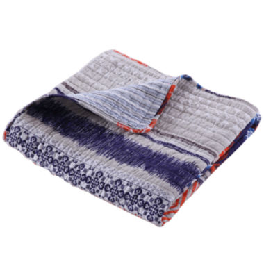 jcpenney.com | Greenland Home Fashions Urban Boho Quilted Cotton Throw