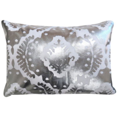 jcpenney.com | Park B. Smith® Baroque Foil-Printed Decorative Pillow