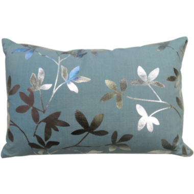 jcpenney.com | Park B. Smith® Leaves Foil-Printed Decorative Pillow