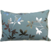 Park B. Smith® Leaves Foil-Printed Decorative Pillow