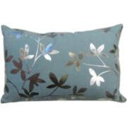 Park B. Smith® Leaves Foil-Printed Decorative Pillow